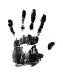 Impresión de la mano Foto de archivo libre de regalías