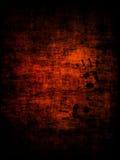 Impresión de la mano en la pared Imagen de archivo