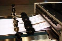 Impresión de la prensa de Digitaces Fotos de archivo libres de regalías