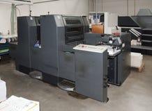 Impresión de la prensa (imprenta) - desplazamiento imagenes de archivo