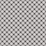 Impresión de la tela Modelo geométrico en la repetición Fondo inconsútil, ornamento del mosaico, estilo étnico stock de ilustración