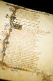 Impresión de los cuentos de Cantorbery Foto de archivo libre de regalías