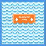 Impresión de tarjeta de verano Imagen de archivo