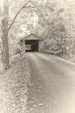 Impresión del albumen - puente cubierto de Colville imágenes de archivo libres de regalías