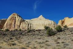 Impresión del filón del capitolio, Utah Fotografía de archivo libre de regalías