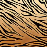 Impresión del tigre stock de ilustración