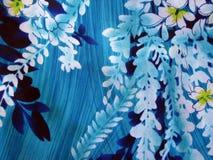 Impresión floral hawaiana Imagenes de archivo