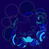Impresión geométrica abstracta Ilustración Stock de ilustración