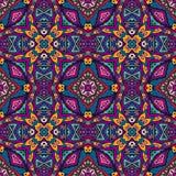 Impresión geométrica colorida del vector inconsútil Imágenes de archivo libres de regalías