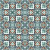 Impresión geométrica inconsútil del mosaico de Absract stock de ilustración