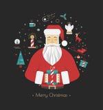 Impresión para las decoraciones de la Navidad Imagen de archivo libre de regalías