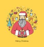 Impresión para las decoraciones de la Navidad Fotografía de archivo