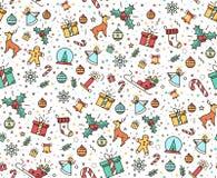 Impresión para las decoraciones de la Navidad Imagenes de archivo