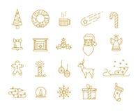 Impresión para las decoraciones de la Navidad Fotos de archivo libres de regalías