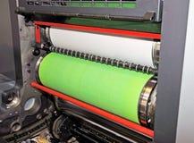 Impresión - prensa compensada, detalle Imagen de archivo libre de regalías