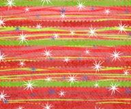 Impresión retra 2 de la Navidad de la raya Fotografía de archivo libre de regalías