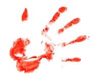 Impresión sangrienta Imagenes de archivo
