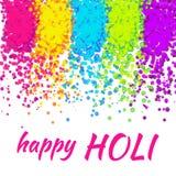 Impresión santa feliz colorida Imagen de archivo libre de regalías