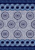 Impresi?n africana de la moda de la materia textil stock de ilustración