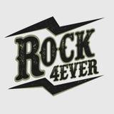 Impresión de la música rock Fotos de archivo libres de regalías