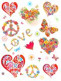 Impresiones coloridas Fotografía de archivo libre de regalías