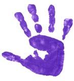 Impresiones coloridas de la mano Imagenes de archivo