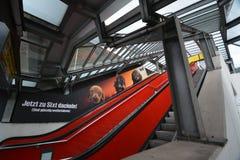 Impresiones de Berlin Tegel Airport, Alemania Fotos de archivo libres de regalías