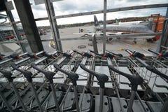Impresiones de Berlin Tegel Airport, Alemania Imagenes de archivo