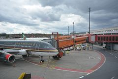 Impresiones de Berlin Tegel Airport, Alemania Foto de archivo libre de regalías