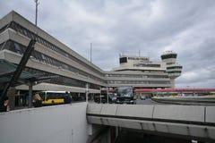 Impresiones de Berlin Tegel Airport, Alemania Imágenes de archivo libres de regalías