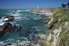 Impresiones de las Costas del Pacífico de luz de la arena del punto, California los E.E.U.U. foto de archivo