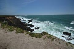 Impresiones de las Costas del Pacífico de luz de la arena del punto, California los E.E.U.U. imagen de archivo libre de regalías