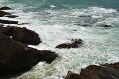 Impresiones de las Costas del Pacífico de luz de la arena del punto, California los E.E.U.U. imagen de archivo