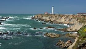 Impresiones de las Costas del Pacífico de luz de la arena del punto, California los E.E.U.U. imágenes de archivo libres de regalías