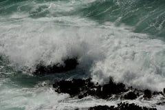 Impresiones de las Costas del Pacífico de luz de la arena del punto, California los E.E.U.U. fotos de archivo libres de regalías