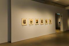 Impresiones de Vincent Van Gogh Foundation Arles Japanese Foto de archivo libre de regalías
