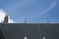 Impresiones del Oude Kerk Iglesia vieja en Amsterdam, Países Bajos Imágenes de archivo libres de regalías