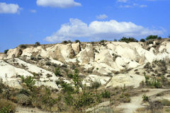 Impresive石头在Cappadokia 免版税图库摄影