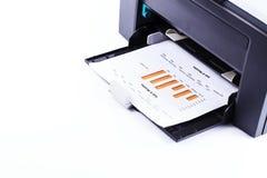 Impresora. foto de archivo libre de regalías