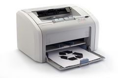 Impresora foto de archivo