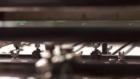 Impresora borrosa que actúa en la impresión metrajes