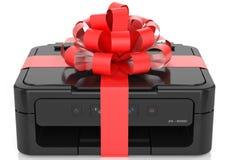 Impresora con un arco Fotografía de archivo libre de regalías