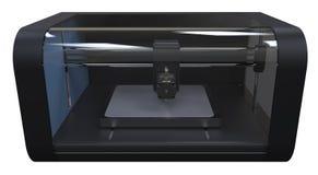 impresora 3D Foto de archivo