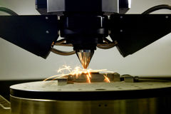 impresora 3D para el metal imágenes de archivo libres de regalías