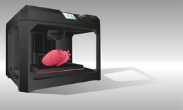 impresora 3d para imprimir los órganos internos Fotografía de archivo libre de regalías