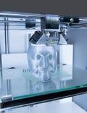 impresora 3D y x28; FDM& x29; fotografía de archivo libre de regalías
