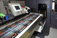 Impresora de Digitaces para las escrituras de la etiqueta Fotos de archivo libres de regalías
