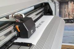 Impresora de Ecosolvent Imagen de archivo libre de regalías