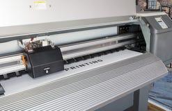 Impresora de Ecosolvent Imágenes de archivo libres de regalías