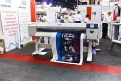 Impresora de inyección de tinta de Digitaces del formato grande - Xerox Fotos de archivo libres de regalías